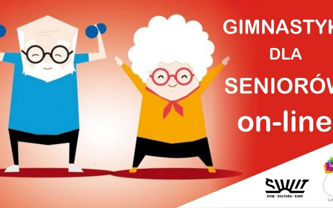 Gimnastyka dla Seniorów online – 2 razy w tygodniu!