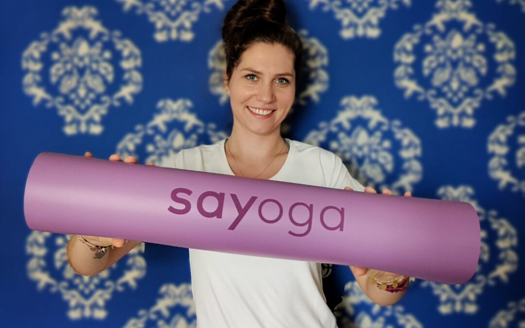 Współpraca z marką Sayoga, czyli nowe spojrzenie na jogę